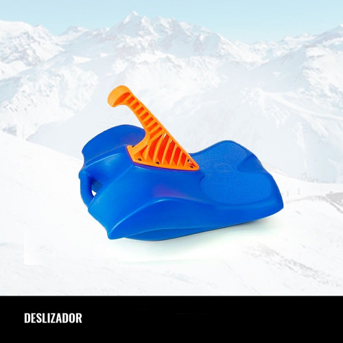 deslizador culipatin trineo con palanca para nieve