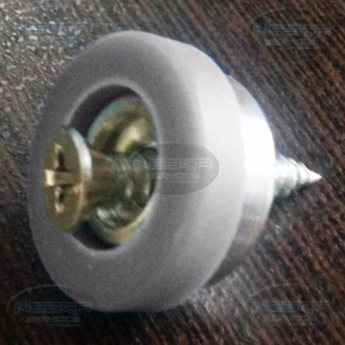deslizador de mueble gris 21mm diámetro  ds02gr