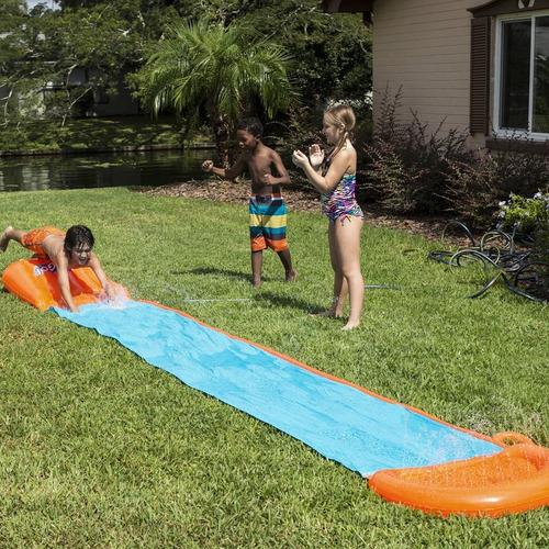 deslizador inflable acuatico de verano h20 go tobogan simple