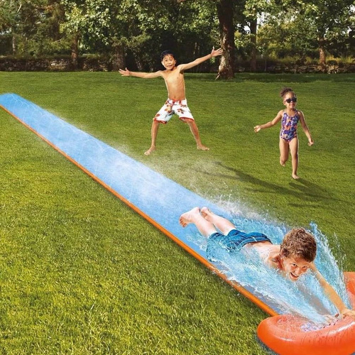 deslizador pista tobogan acuatico h2o go single slide promo!
