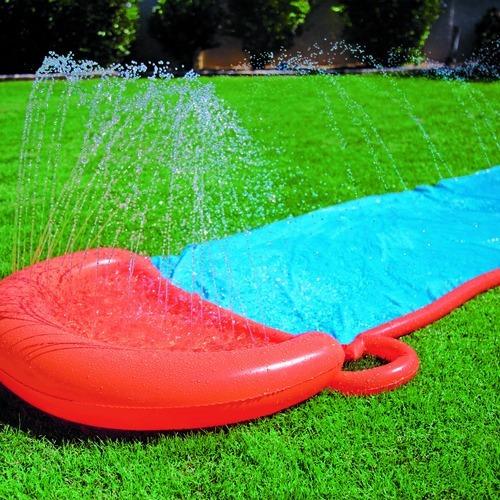 deslizador simple bestway pista agua inflable tienda pepino
