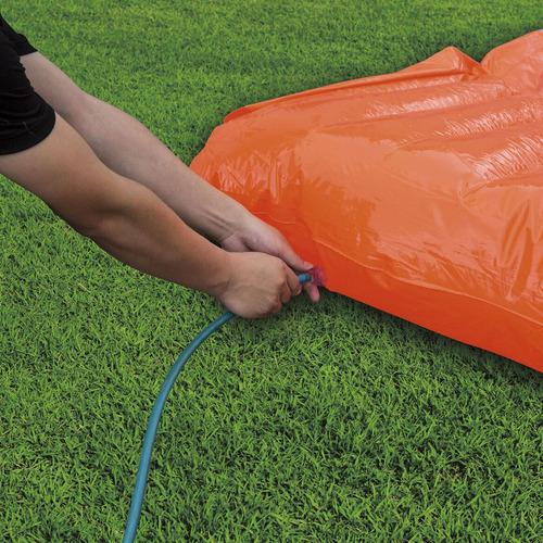 deslizador tobogan juego acuatico inflable h20 go 2 carriles