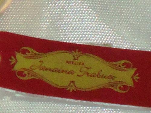 deslumbrante anel c/banho18k/zircônias janaína trabuco,déc90