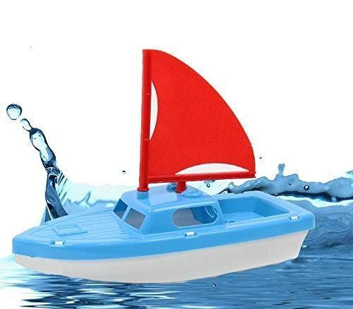 deslumbrante juguetes de baño y arena de plástico del barco