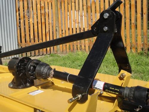 desmalezadora 1.80 mts p/3 puntos con caja reforzada y rueda