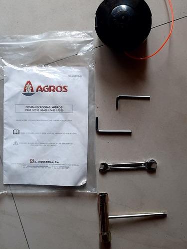 desmalezadora agros f260 (sin uso) con arnés incluído