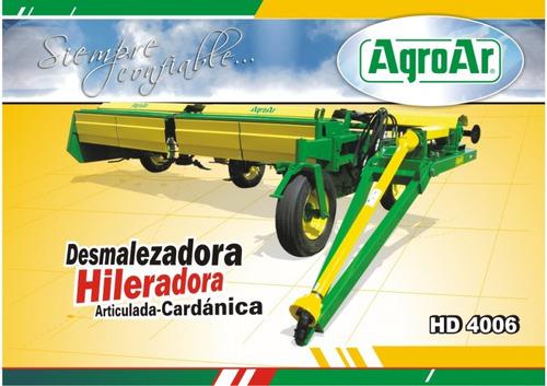 desmalezadora hileradora agroar hd 4006