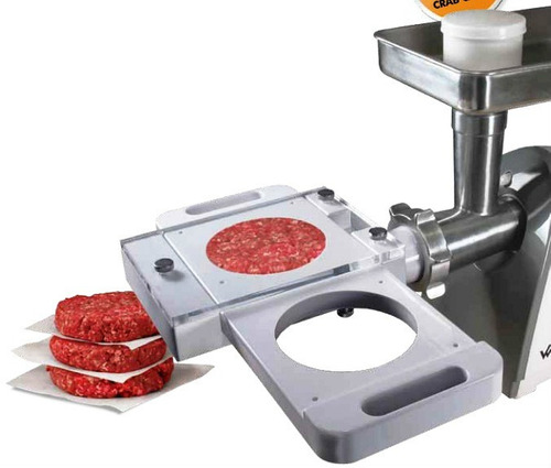 desmechadora de carne cortador papas formador hamburguesas