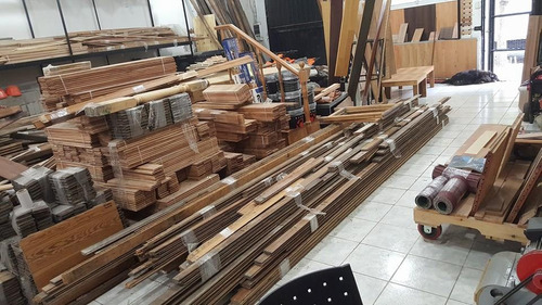 desmonte y compra de pisos de pinotea listonada y tirantes