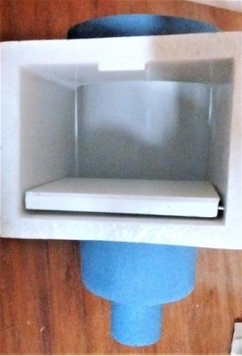 desnatador en fibra de vidrio de 6 y 8 pulgadas