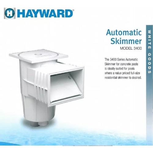 desnatador hayward 3400 salidas de 1 1/2 a 2