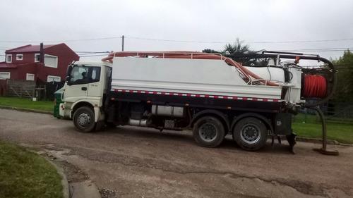desobstrucción de cañerías - camión desobstructor