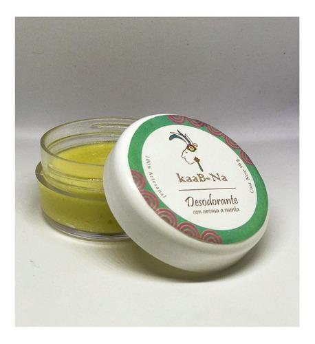 desodorante 100% ecológico, orgánico, natural, hecho a mano.