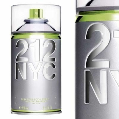 cd12413c8 Desodorante 212 Nyc Seductive Body Spray 250ml Feminino - R  89