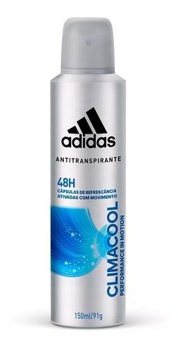 desodorante adidas aerosol climacool masculino 150ml