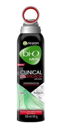 desodorante aerosol bioclinical hombre eficacia135ml garnier