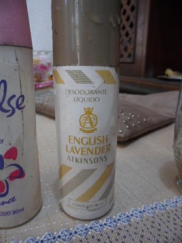 desodorante antigo dos anos 70/80 para decoração