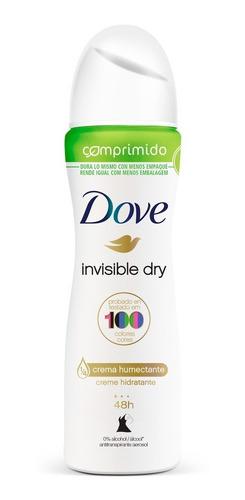 desodorante antit en aerosol comprimido dove invisible dry 8