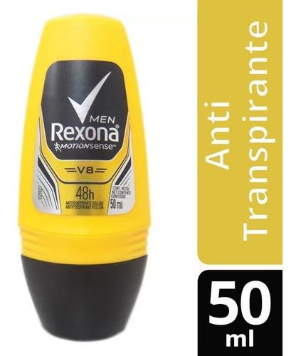 desodorante antitransp rollon rexona men tuning v8 48h 50ml