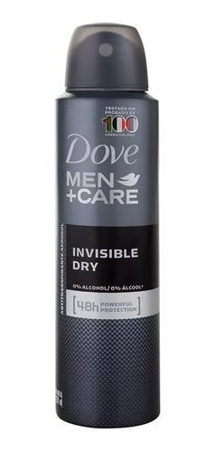desodorante antitranspirante dove men + care invisible dry