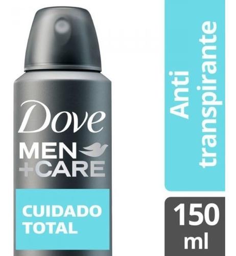 desodorante antitranspirante dove men cuidado total 150 ml.