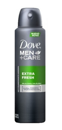 desodorante antitranspirante dove men extra fresh 150 ml.