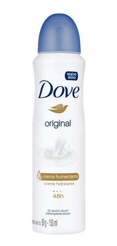 desodorante antitranspirante dove original 150ml