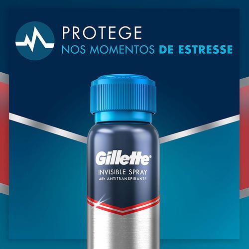 desodorante antitranspirante gillette pressure defense 150ml
