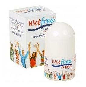 desodorante antitranspirante wetfree
