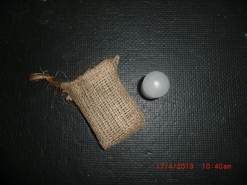 desodorante artesanal de piedra de alumbre. natural