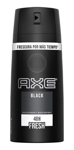 desodorante axe black x 150ml