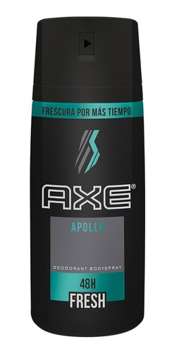 desodorante axe bodyspray frescura por mas tiempo x 97g