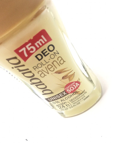desodorante babaria roll on avena y soja