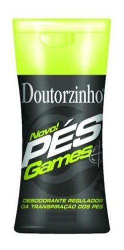 desodorante creme para os pés doutorzinho games com 70 g