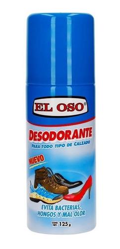 desodorante el oso para calzado