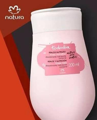desodorante hidratante corporal tododia framboesa e pimenta