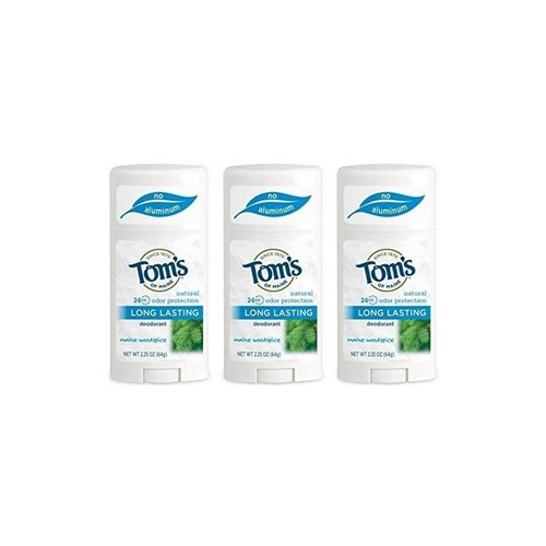 desodorante natural toms of maine maine woodspice 2.25 onzas