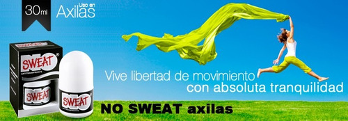 desodorante no sweat-adios al sudor excesivo-100%garantizado