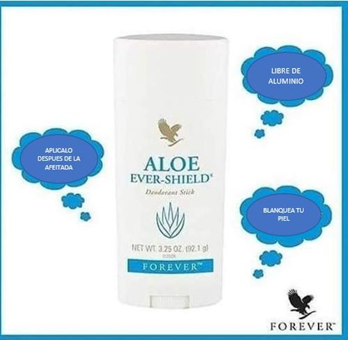 desodorante repelente a base de aloe vera aloe ever shield