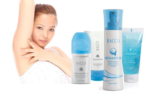 desodorante roll-on pele sensível regulateur racco