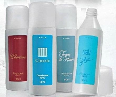 desodorante spray avon feminino 80ml