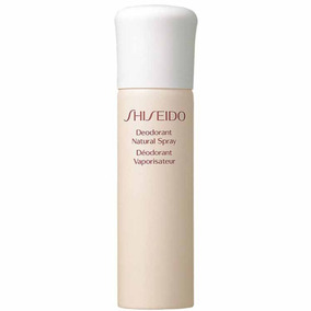 53ecebb16 Shiseido Deodorant Natural Spray - Desodorante Spray 100ml por Beleza na Web