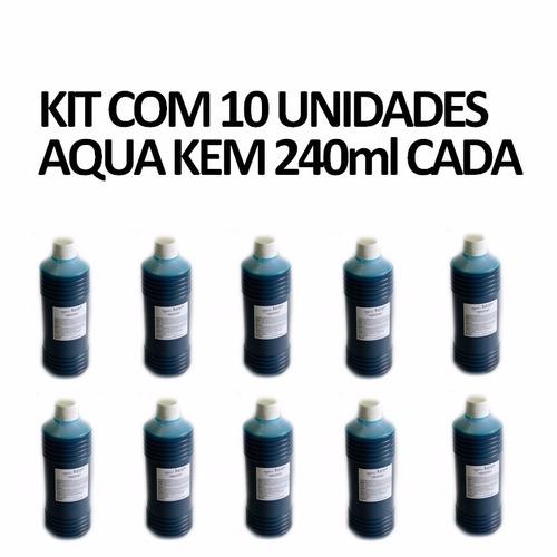 desodorizante solvente p/ banheiro quimico água kem 240ml
