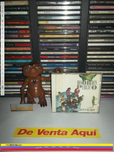 desorden publico - cd original - un tesoro músical