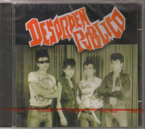 desorden publico ( punk hardcore mexicano) cd rock