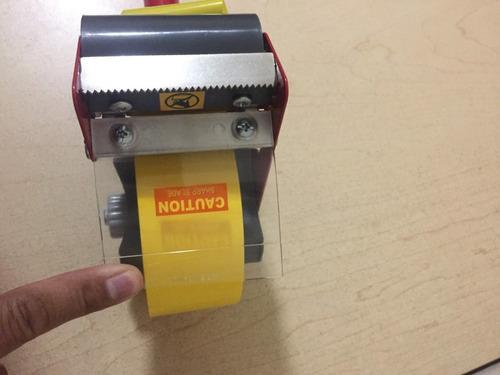 despachador 2 en 1 uso rudo de cinta para empaque 2  y 3