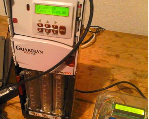 despachador agua purificada para monedero cambio mdb