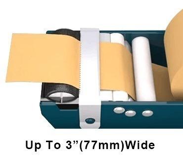 despachador dispensador de cinta engomada papel kraft 76 mm