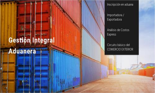 despachantes de aduana - importación exportación