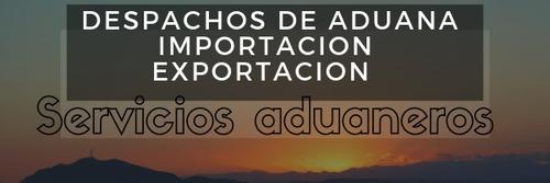 despacharte de aduana / encomiendas retenidas/particulares